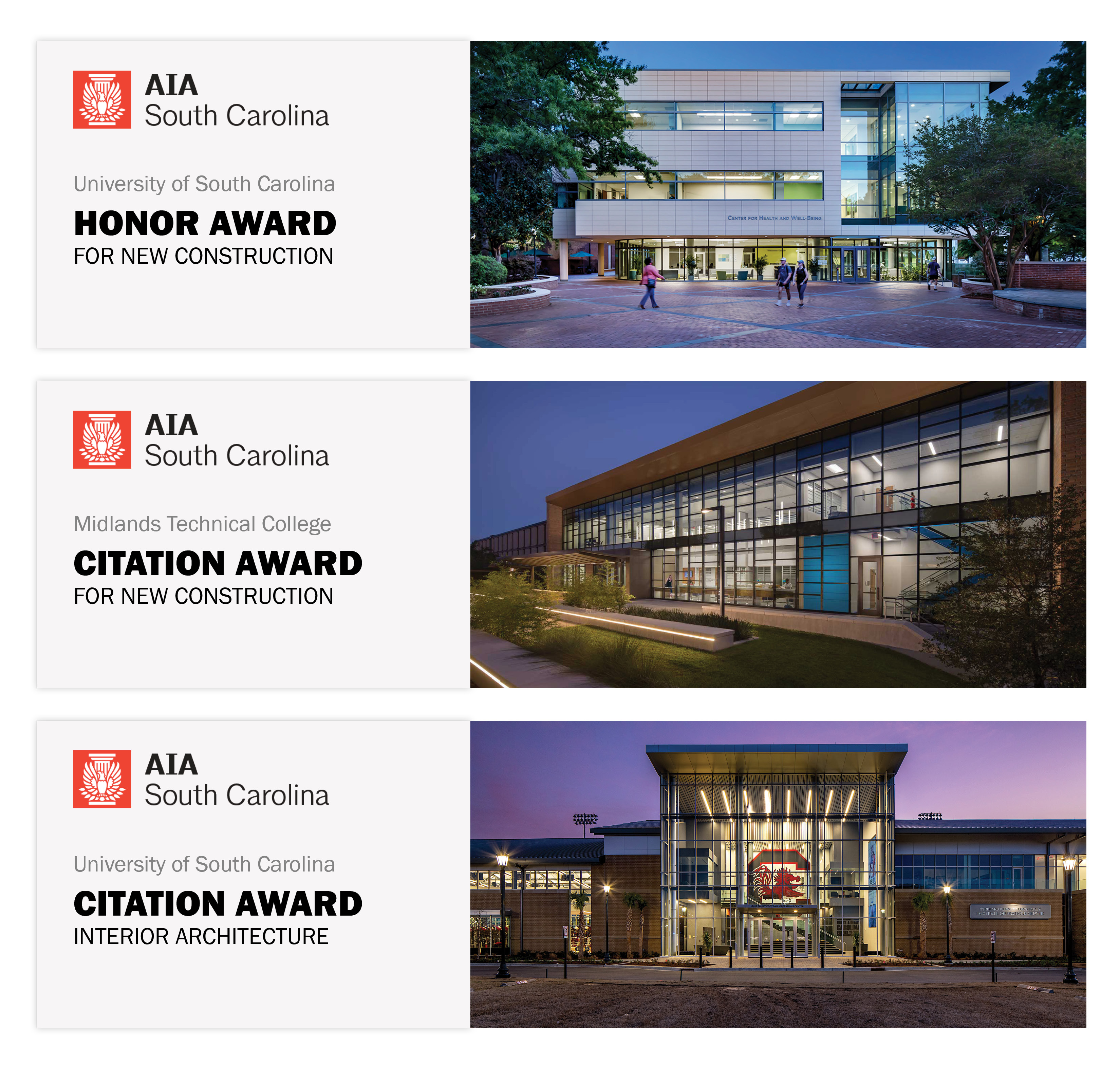 Quackenbush Architects Receive 3 Design Awards At Aiasc Annual Meeting Quackenbush Architects